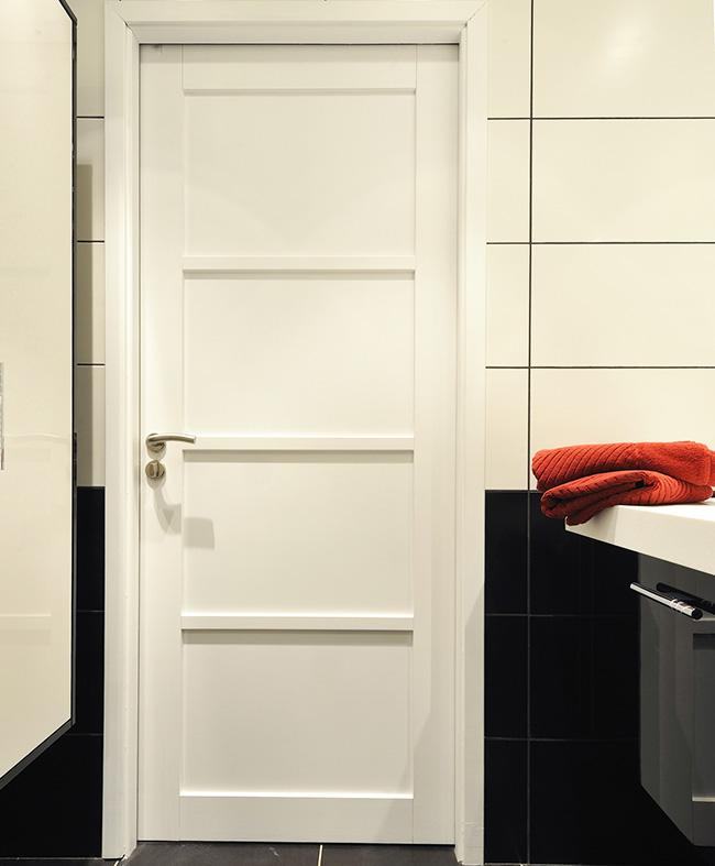 porte r novation neptune h tre massif blanc satin paul. Black Bedroom Furniture Sets. Home Design Ideas