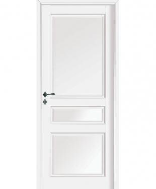 Porte d 39 int rieur de maison standard ou sur mesure e couliss for Prix porte blanche interieur