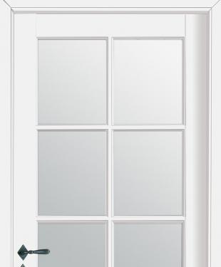 Porte d 39 int rieur de maison standard ou sur mesure e couliss for Porte interieur a petit carreaux