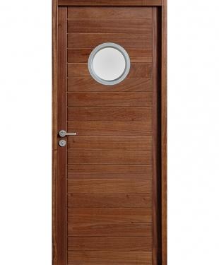 Porte d 39 int rieur de maison standard ou sur mesure e couliss for Porte interieure avec hublot