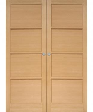 Porte d 39 int rieur de maison standard ou sur mesure e couliss - Double porte coulissante vitree ...