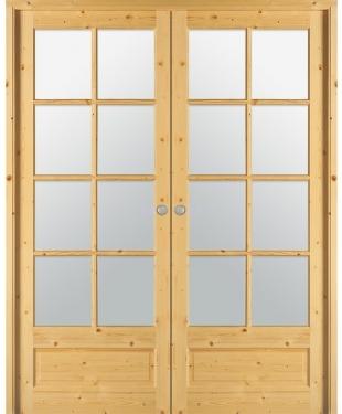 porte battante tamise vitr e sapin massif brut paul ceyrac e couliss. Black Bedroom Furniture Sets. Home Design Ideas