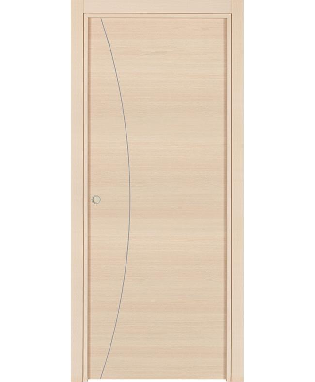 Porte coulissante alicia inserts alu cpl ch ne blanchi vein italia e couliss - Specialiste porte coulissante ...