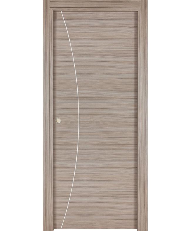 Porte coulissante alicia inserts alu cpl palissandre for Porte italia
