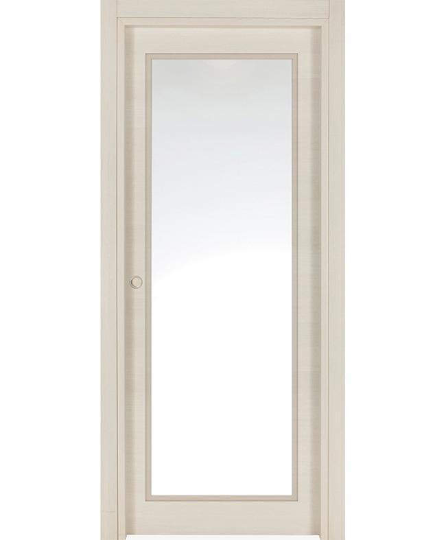 Porte coulissante alicia vitr e cpl pin d 39 oregon structur italia e couliss - Specialiste porte coulissante ...