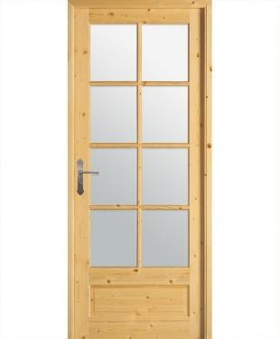 Porte d 39 int rieur de maison standard ou sur mesure e couliss for Porte interieur sapin